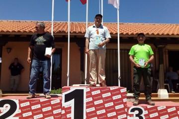 Antonio Castrillo sube al PODIUM en el Campeonato de España de RECORRIDOS DE CAZA
