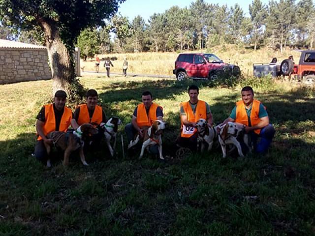 XXIV Campeonato de España de perros de rastro modalidad Jabalí