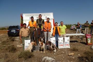 Final del Campeonato Regional de Cantabria de Caza Menor con Perro, celebrado en el Coto de Salinas de Pisuerga
