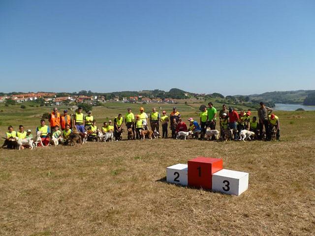 Cto Rastro Jabalí organizado por el CDB Cabo de AJO
